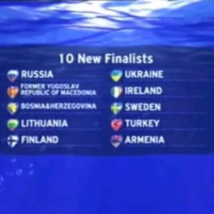 Scoreboard Semifinale 2006