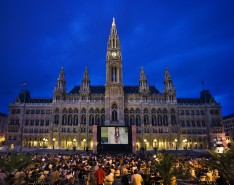 Start der Film Festival Saison am Wiener Rathausplatz