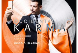 """Occidentali's karma"" di Francesco Gabbani è disco di platino!"