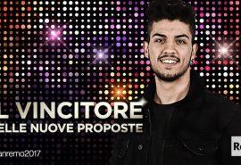 Sanremo 2017 – Lele vince il Festival per le Nuove Proposte