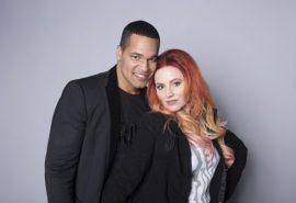 Eurovision 2017 – San Marino presenta alla stampa Valentina e Jimmie