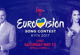 Eurovision 2017 – La Finale trasmessa negli USA da Logo TV