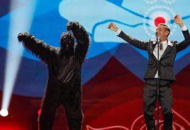 Una scimmia per salvare l'Eurovision più difficile